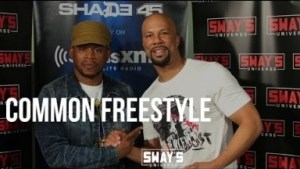 Video: Common - Keep It Real Freestyle